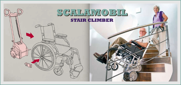 used scalamobil wheelchair stair climbing for sale