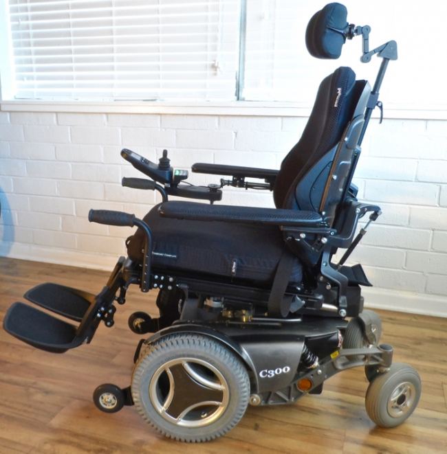 Permobil c300 3g power wheelchair for Motorized wheelchair for sale