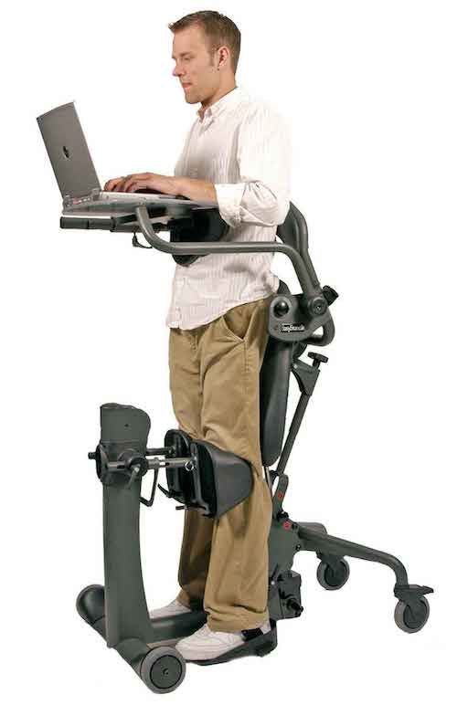 EasyStand EVOLV Shadow standing frame - easy-to-stand wheelchair ...